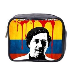 Pablo Escobar Mini Toiletries Bag 2 Side by Valentinaart