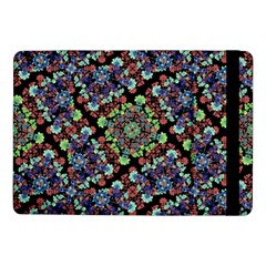 Colorful Floral Collage Pattern Samsung Galaxy Tab Pro 10 1  Flip Case by dflcprints