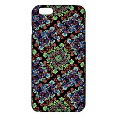 Colorful Floral Collage Pattern Iphone 6 Plus/6s Plus Tpu Case by dflcprints