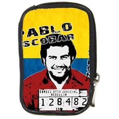 Pablo Escobar Compact Camera Cases by Valentinaart