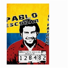 Pablo Escobar Small Garden Flag (two Sides) by Valentinaart