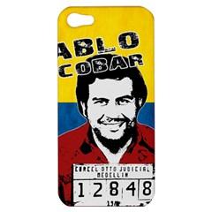 Pablo Escobar Apple Iphone 5 Hardshell Case by Valentinaart