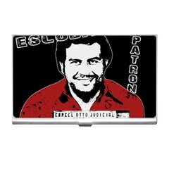 Pablo Escobar Business Card Holders by Valentinaart