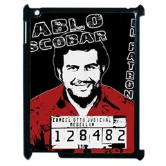 Pablo Escobar Apple Ipad 2 Case (black) by Valentinaart