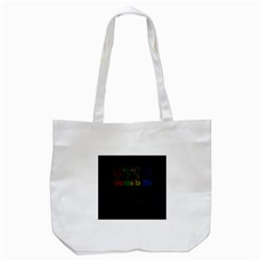Dance Is Life Tote Bag (white) by Valentinaart