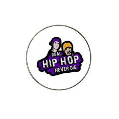 Real Hip Hop Never Die Hat Clip Ball Marker by Valentinaart