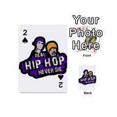 Real Hip Hop Never Die Playing Cards 54 (mini)  by Valentinaart