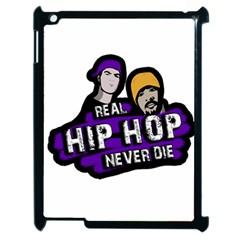 Real Hip Hop Never Die Apple Ipad 2 Case (black) by Valentinaart
