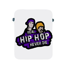 Real Hip Hop Never Die Apple Ipad 2/3/4 Protective Soft Cases by Valentinaart