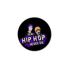 Real Hip Hop Never Die Golf Ball Marker (10 Pack) by Valentinaart