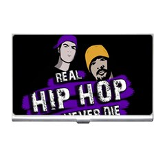 Real Hip Hop Never Die Business Card Holders by Valentinaart
