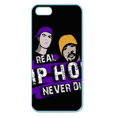 Real Hip Hop Never Die Apple Seamless Iphone 5 Case (color) by Valentinaart