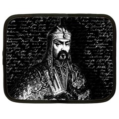 Attila The Hun Netbook Case (large) by Valentinaart