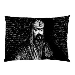 Attila The Hun Pillow Case (two Sides) by Valentinaart