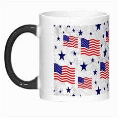 Flag Of The Usa Pattern Morph Mugs by EDDArt