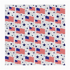 Flag Of The Usa Pattern Medium Glasses Cloth by EDDArt