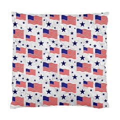 Flag Of The Usa Pattern Standard Cushion Case (one Side) by EDDArt