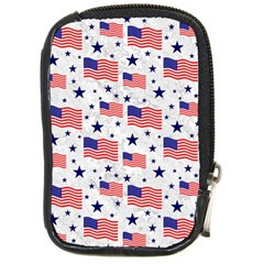 Flag Of The Usa Pattern Compact Camera Cases by EDDArt