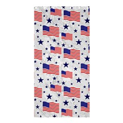 Flag Of The Usa Pattern Shower Curtain 36  X 72  (stall)  by EDDArt