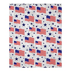 Flag Of The Usa Pattern Shower Curtain 60  X 72  (medium)  by EDDArt