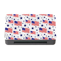 Flag Of The Usa Pattern Memory Card Reader With Cf by EDDArt