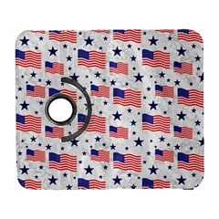 Flag Of The Usa Pattern Galaxy S3 (flip/folio) by EDDArt