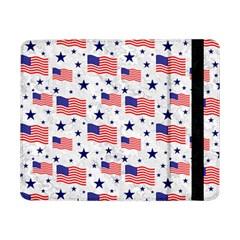Flag Of The Usa Pattern Samsung Galaxy Tab Pro 8 4  Flip Case by EDDArt