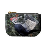 Woodpecker,sandhill crane - Mini Coin Purse