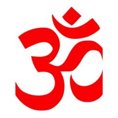Hindu Om Symbol Shower Curtain 60  X 72  (medium)  by abbeyz71
