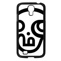 Hindu Om Symbol In Tamil Samsung Galaxy S4 I9500/ I9505 Case (black) by abbeyz71