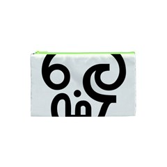 Hindu Om Symbol In Tamil Cosmetic Bag (xs) by abbeyz71