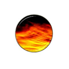 Black Yellow Red Sunset Hat Clip Ball Marker (10 Pack) by Costasonlineshop