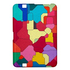 Colorful Leather Pieces       Samsung Galaxy Premier I9260 Hardshell Case by LalyLauraFLM