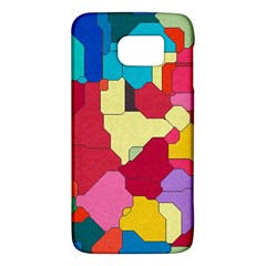 Colorful Leather Pieces       Htc One M9 Hardshell Case by LalyLauraFLM