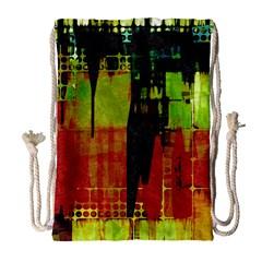 Grunge Texture             Large Drawstring Bag by LalyLauraFLM
