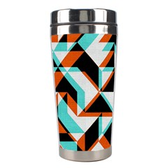 4 Colors Shapes          Stainless Steel Travel Tumbler by LalyLauraFLM