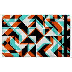 4 Colors Shapes    Kindle Fire (1st Gen) Flip Case by LalyLauraFLM