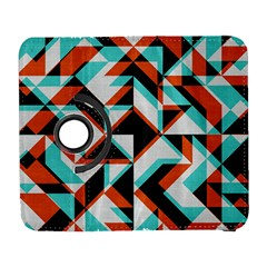 4 Colors Shapes    Samsung Galaxy Note Ii Flip 360 Case by LalyLauraFLM
