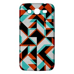 4 Colors Shapes    Samsung Galaxy Duos I8262 Hardshell Case by LalyLauraFLM