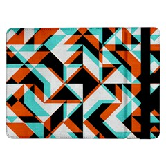 4 Colors Shapes    Samsung Galaxy Tab Pro 10 1  Flip Case by LalyLauraFLM
