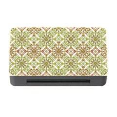 Colorful Stylized Floral Boho Memory Card Reader With Cf by dflcprints