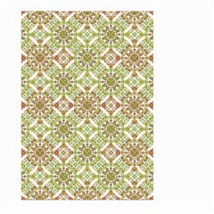 Colorful Stylized Floral Boho Large Garden Flag (two Sides) by dflcprints