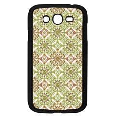 Colorful Stylized Floral Boho Samsung Galaxy Grand Duos I9082 Case (black) by dflcprints