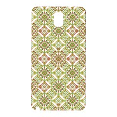 Colorful Stylized Floral Boho Samsung Galaxy Note 3 N9005 Hardshell Back Case by dflcprints