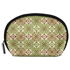 Colorful Stylized Floral Boho Accessory Pouches (large)  by dflcprints