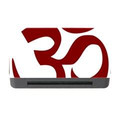 Hindu Om Symbol (dark Red) Memory Card Reader With Cf by abbeyz71