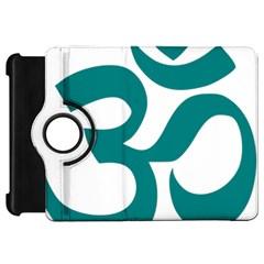 Hindu Om Symbol (teal) Kindle Fire Hd 7  by abbeyz71
