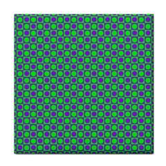 Friendly Retro Pattern A Tile Coasters by MoreColorsinLife