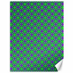 Friendly Retro Pattern A Canvas 36  X 48   by MoreColorsinLife