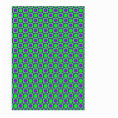 Friendly Retro Pattern A Large Garden Flag (two Sides) by MoreColorsinLife